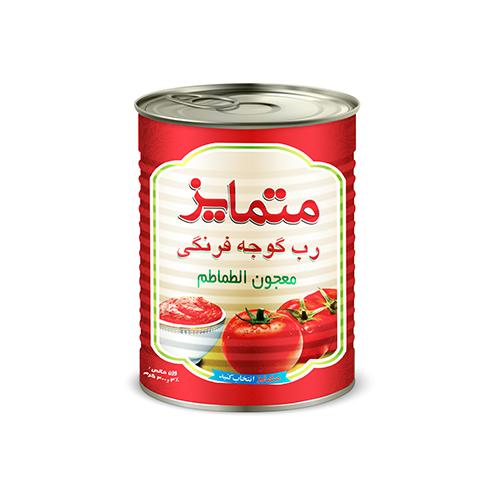 رب گوجه فرنگی 400 گرمی متمایز