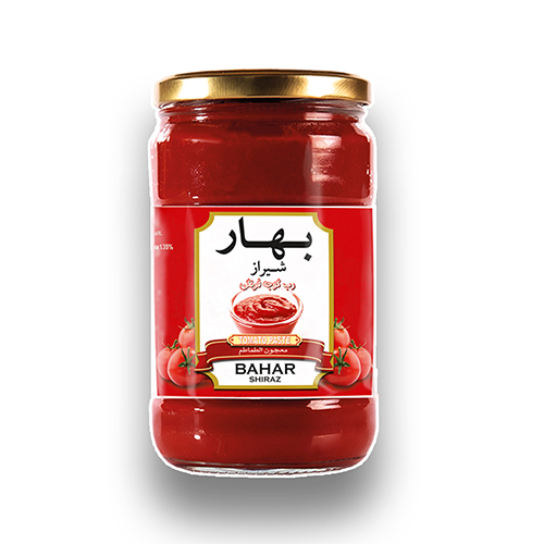 رب گوجه فرنگی شیشه ای بهار شیراز