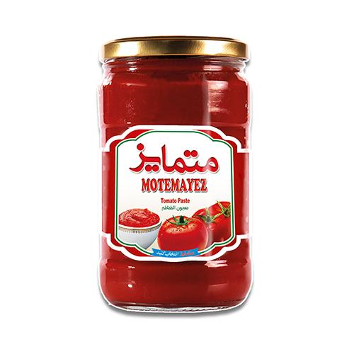 رب گوجه فرنگی شیشه ای متمایز